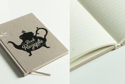 Back Journal mit Notizblock