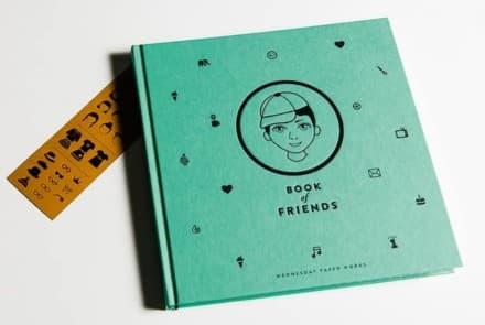 Book of friends – türkis
