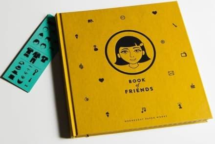 Book of friends – senfgelb