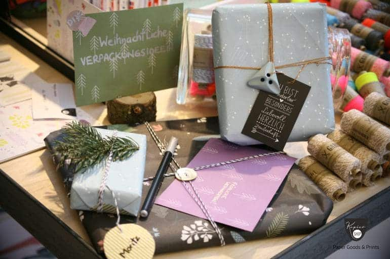 Xmas Geschenksverpackung Garne