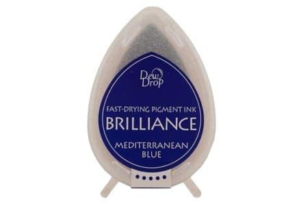 """Stempelkissen Tsukineko Dew Drop """"Brilliance"""" mediterranean blue"""