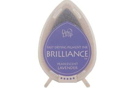 """Stempelkissen Tsukineko Dew Drop """"Brilliance"""" pearl lavender"""