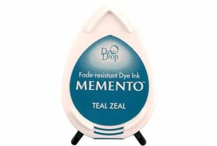 """Stempelkissen Tsukineko Dew Drop """"Memento"""" teal zeal"""