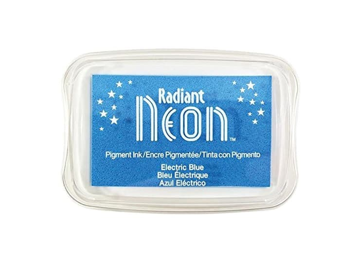 "Stempelkissen Tsukineko ""Radiant Neon"" electric blue"