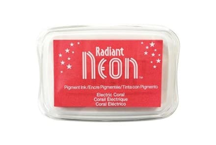 "Stempelkissen Tsukineko ""Radiant Neon"" electric coral"