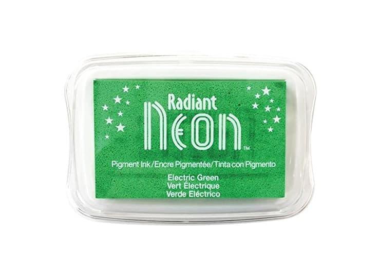 "Stempelkissen Tsukineko ""Radiant Neon"" electric green"