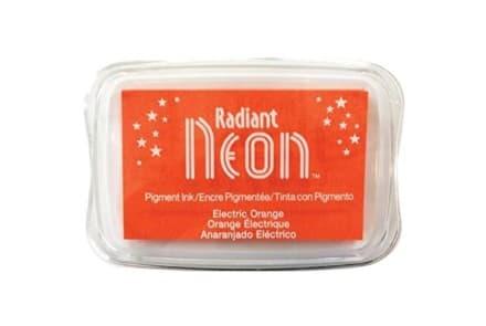 "Stempelkissen Tsukineko ""Radiant Neon"" electric orange"