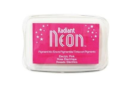 "Stempelkissen Tsukineko ""Radiant Neon"" electric pink"
