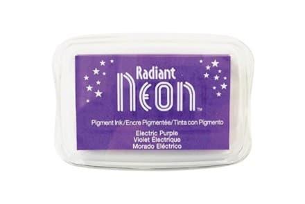 "Stempelkissen Tsukineko ""Radiant Neon"" electric purple"