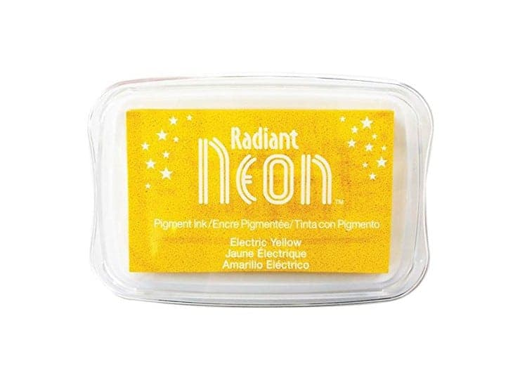 "Stempelkissen Tsukineko ""Radiant Neon"" electric yellow"