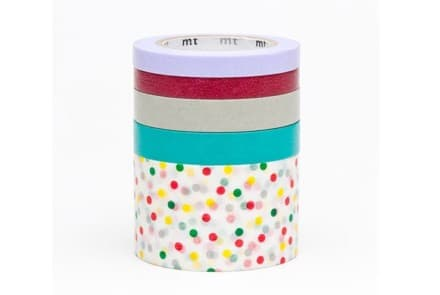 Masking Tapes 5pack Suite P