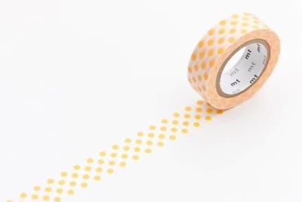 Masking Tape – dot apricot
