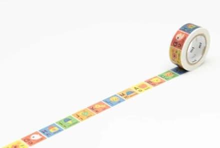 Masking Tape for Kids – alphabet A-M