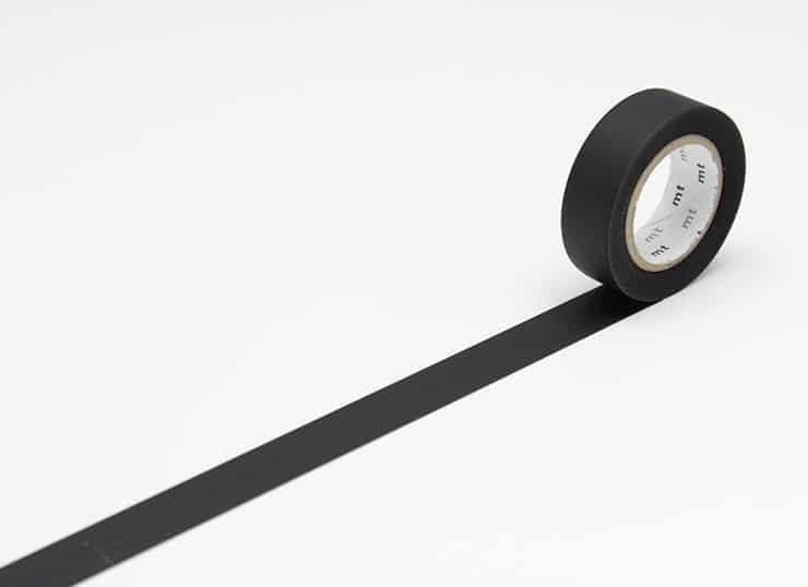 Masking Tape – uni – matte black