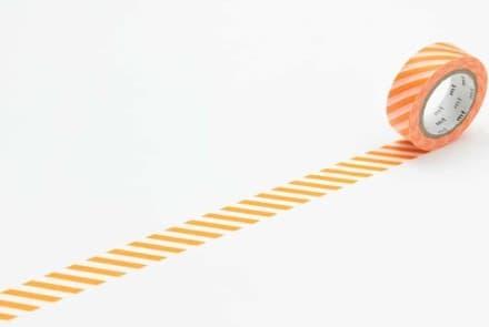 Masking Tape – stripe orange