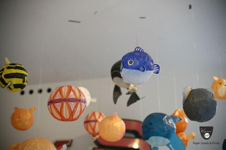 Kamifusen blauer Kugelfisch