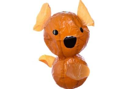 """Japanischer Papierballon """"Brauner Koala"""""""