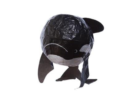 """Japanischer Papierballon """"Wal"""""""