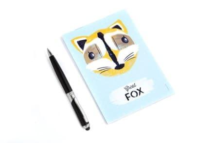"Notizblock ""Fox"""