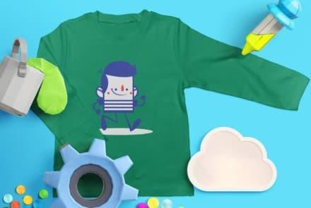 T-Shirt Langarm (Kinder)